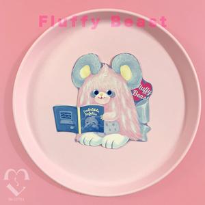 fluffy beast マウス カード