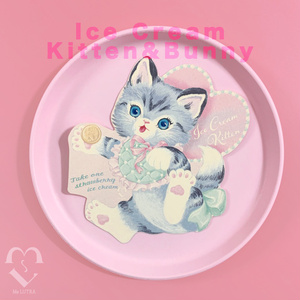 icecream kitten カード