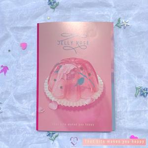 jelly rose book風 カード
