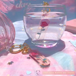 rose サプリメント キーホルダー