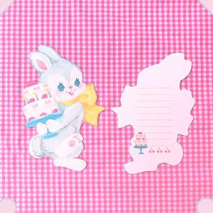 カードレターセット(ウサギ)