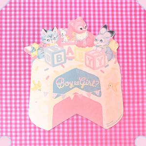 BABY SHOWER PARTYカード