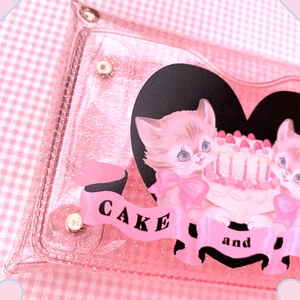 CAKE and CATS PVCカードケース