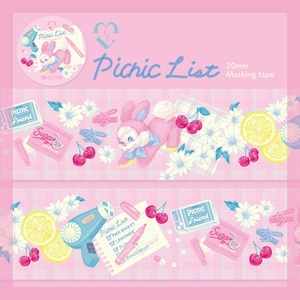 Picnic List マスキングテープ