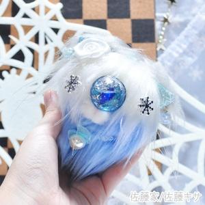 冬の妖精猫又 / シルバー
