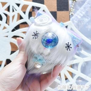 冬の妖精猫又 / ラベンダー