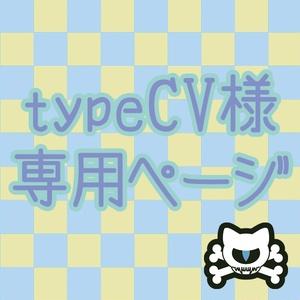 @typeCV様専用ページ