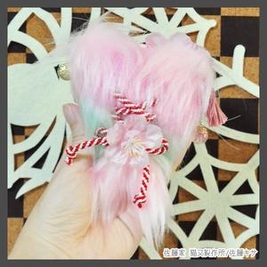 桜猫又 / ピンク×ミント
