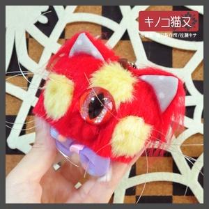 キノコ猫又 / レッド