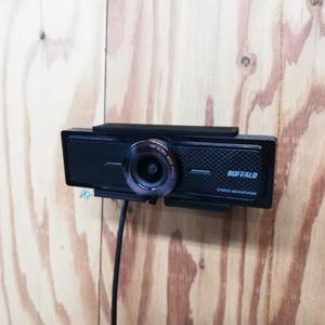 バッファロー BSW200MBK用壁付け用カメラマウント