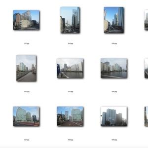 トレース、画像加工が可能なビルの写真素材集