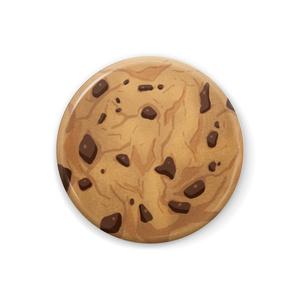 チョコチップクッキー缶バッチ【32mm/44mm】