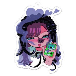 大麻おティー🌱×豚箱 コラボアクキー