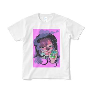 大麻おティー×豚箱 コラボTシャツ