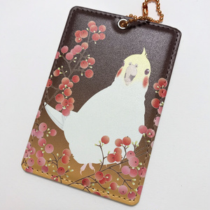 オカメインコ ICカードケース<秋南天>