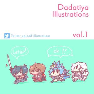 Toukenranbu Dadatiy Illustrations