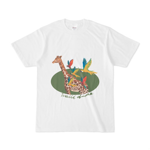 アフリカキリンTシャツ
