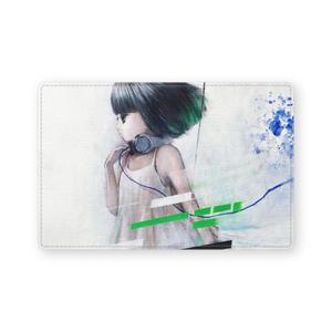 レザー製名刺入れ「straight」 カードケース