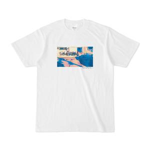オシャレ自転車のTシャツ。