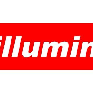 チルミナT Chilluminati ボックスロゴT【ホワイト】