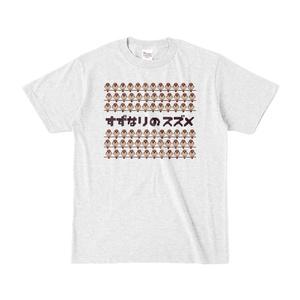 スズメ ドット絵Tシャツ
