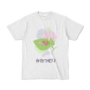 かたつむり ドット絵Tシャツ