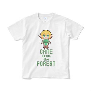 CAME FROM THE FOREST ドット絵Tシャツ
