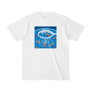 金魚すくい ドット絵Tシャツ
