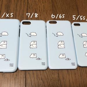 あかあむちゃんiPhoneケース(ブルー)