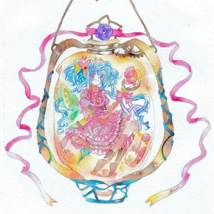原画【ランタンの妖精について】