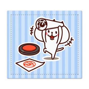 ぶーちゃん 捺印マット(スタンプポンポン)