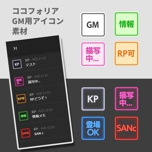 【オンセ素材】ココフォリア用KPコマ