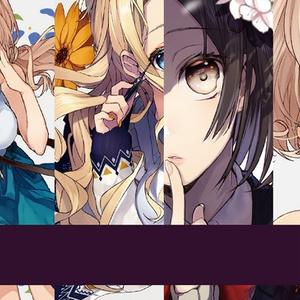 【1ヵ月限定再販】 花×化粧イラスト本 「Girl」