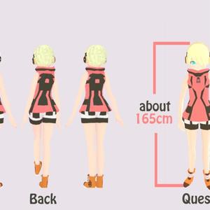 Due(ドゥ―エ)-VRChat向けオリジナル3Dモデル
