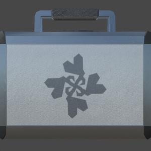 アタッシュケース&カプセル(小物3Dモデル)