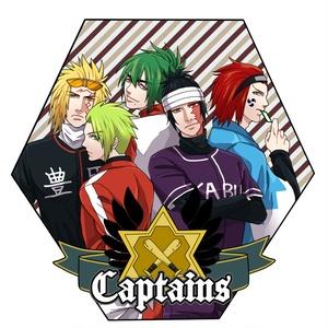 キャプテンズアクリルキーホルダー