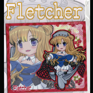SDキャラマグネット(SQ) 艦これ Fletcher