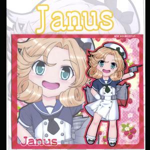 SDキャラマグネット 艦これ Janus
