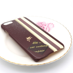 チョコケーキのスマホケース(Bタイプ)