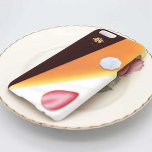 3種ケーキのスマホケース