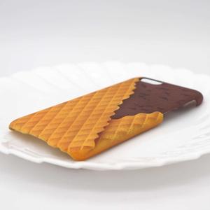 チョコチップチョコアイスのスマホケース