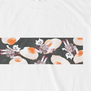 宇宙の目玉焼きTシャツ
