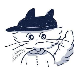 ぼうしネコのロンT