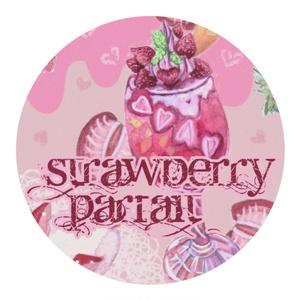 STRAWBERRY PARFAIT マスキングテープ