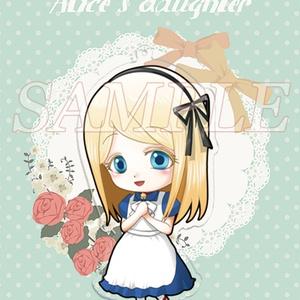 【NEW】アリスの娘・アクリルキーホルダー