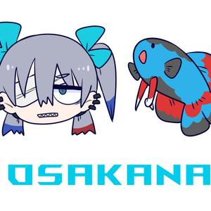 【2種類】OSAKANAのTシャツ