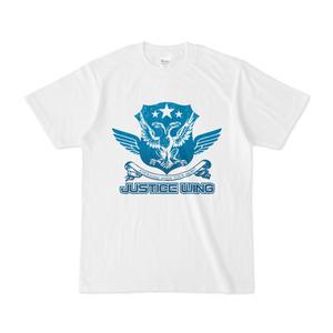 ジャスティス・ウィング所属ヒーロー・職員支給備品Tシャツ
