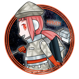 火星探査機「メイヴン」擬人化アクリルキーホルダー
