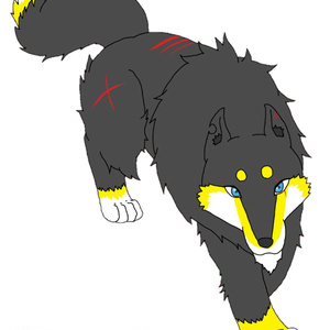 【ぴく銀伝】黒狼・フェオ【正義】