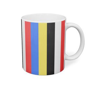 五色マグカップ(ストライプ)